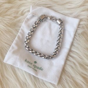 Kate Spade Silver Learn the Ropes Link Bracelet